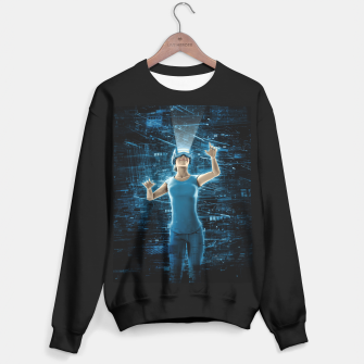 Thumbnail image of Virtual Reality User Woman Sweater regular, Live Heroes