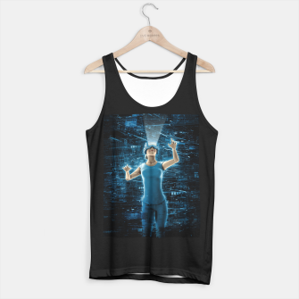 Thumbnail image of Virtual Reality User Woman Tank Top regular, Live Heroes