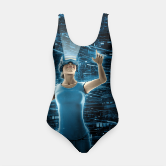 Thumbnail image of Virtual Reality User Woman Swimsuit, Live Heroes