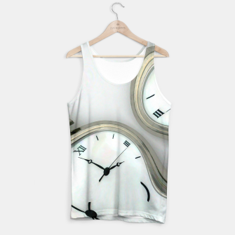 Thumbnail image of Distorted time - surrealist painting Tank Top, Live Heroes