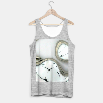 Thumbnail image of Distorted time - surrealist painting Tank Top regular, Live Heroes