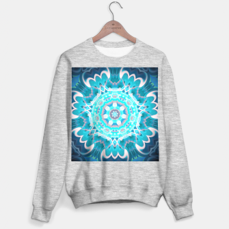 Thumbnail image of Blue Dream Mandala Sweatshirt regulär, Live Heroes