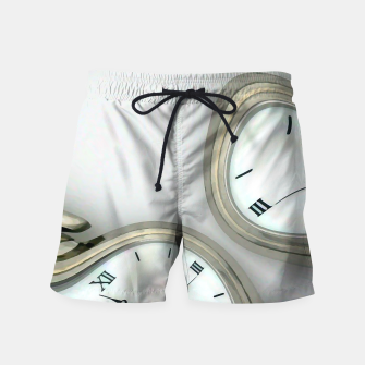 Thumbnail image of Distorted time - surrealist painting Swim Shorts, Live Heroes