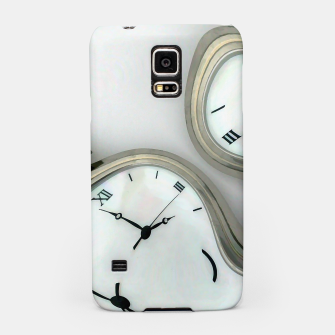 Thumbnail image of Distorted time - surrealist painting Samsung Case, Live Heroes