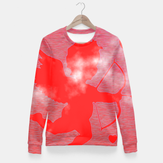 Thumbnail image of Cupid Love Fitted Waist Sweater, Live Heroes