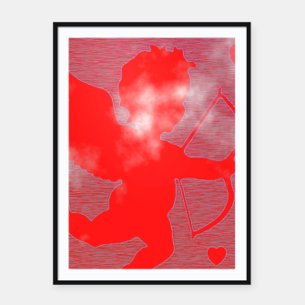 Thumbnail image of Cupid Love Framed poster, Live Heroes