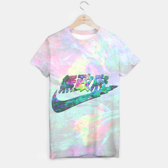 Thumbnail image of AnarGlitch Statement T-shirt, Live Heroes