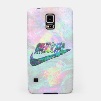 Thumbnail image of AnarGlitch Statement Samsung Case, Live Heroes