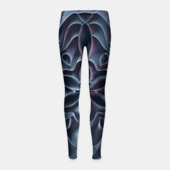 Thumbnail image of Hold Off Girl's Leggings, Live Heroes