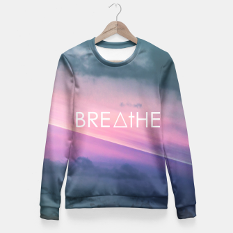 Miniaturka Breathe Fitted Waist Sweater, Live Heroes