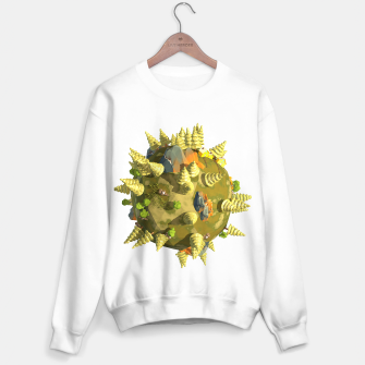 Thumbnail image of Low Poly Earth  Sweater regular, Live Heroes