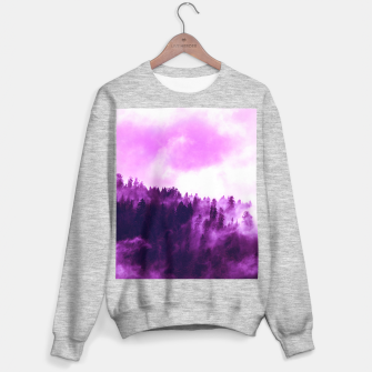 Thumbnail image of Purple Foggy Forest Sweater regular, Live Heroes