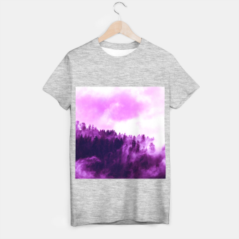 Thumbnail image of Purple Foggy Forest T-shirt regular, Live Heroes