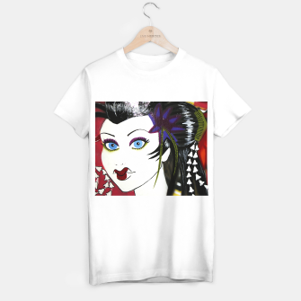 Thumbnail image of Geisha Graffiti  T-shirt regular, Live Heroes