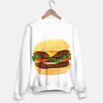 Thumbnail image of CHEESEBURGER 2 Sweater regular, Live Heroes