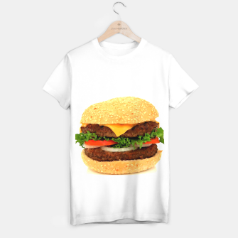 Thumbnail image of CHEESEBURGER 2 T-shirt regular, Live Heroes