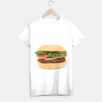 Thumbnail image of HAMBURGER T-shirt regular, Live Heroes