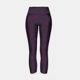 Thumbnail image of Gaming Controllers - Plum Purples Yoga Pants, Live Heroes
