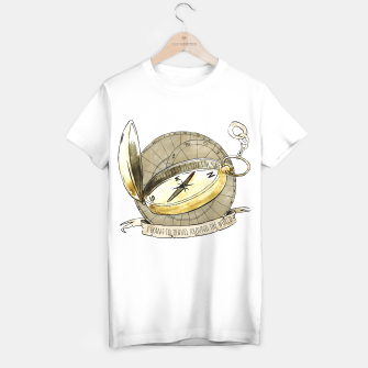Thumbnail image of Wanderlust to Travel Around the World T-shirt regular, Live Heroes