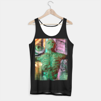 Thumbnail image of Nightmare Glitch Tank Top regular, Live Heroes