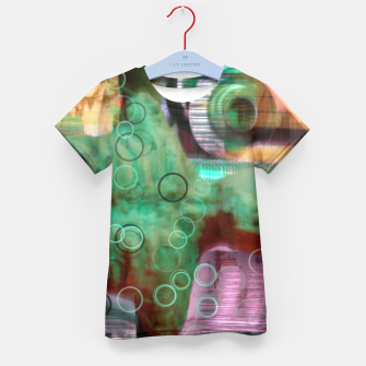 Thumbnail image of Nightmare Glitch Kid's T-shirt, Live Heroes