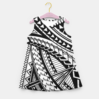 Thumbnail image of SamoanLove Girl's Summer Dress, Live Heroes