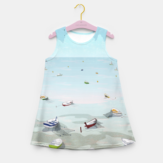 Thumbnail image of Between two waters Girl's Summer Dress, Live Heroes