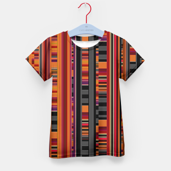 Thumbnail image of Pixel Lines Kid's T-shirt, Live Heroes