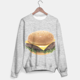 Thumbnail image of CHEESEBURGER 4 Sweater regular, Live Heroes
