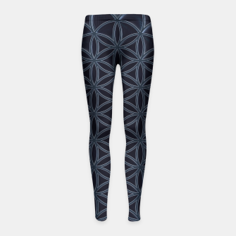 Thumbnail image of Deep Seeded Girl's Leggings, Live Heroes
