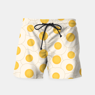 Thumbnail image of Fried Eggs Swim Shorts, Live Heroes