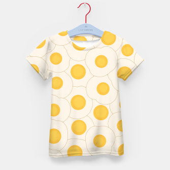 Thumbnail image of Fried Eggs Kid's T-shirt, Live Heroes