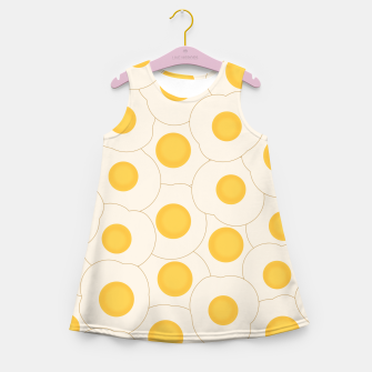 Thumbnail image of Fried Eggs Girl's Summer Dress, Live Heroes