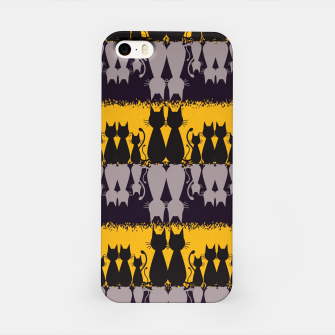 Thumbnail image of Cat Pattern iPhone Case, Live Heroes