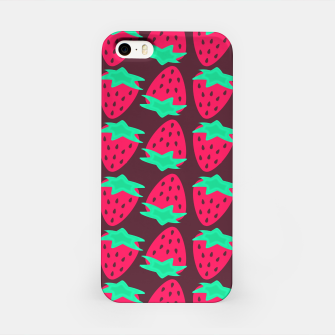 Thumbnail image of Strawberry Pattern iPhone Case, Live Heroes