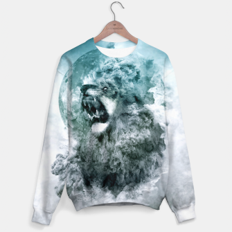 Thumbnail image of Lion Blue Sweater, Live Heroes