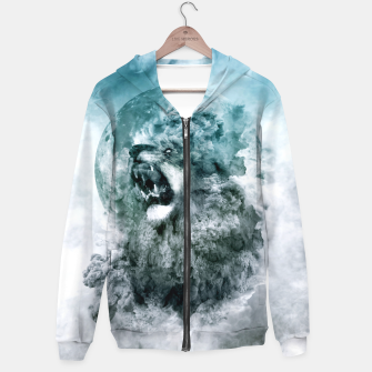 Thumbnail image of Lion Blue Hoodie, Live Heroes