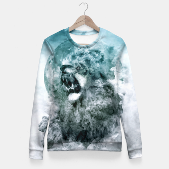 Thumbnail image of Lion Blue Fitted Waist Sweater, Live Heroes
