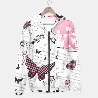 Thumbnail image of Punk Bunny - cute and grunge  Hoodie, Live Heroes