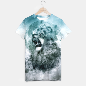 Thumbnail image of Lion Blue T-shirt, Live Heroes