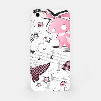 Thumbnail image of Punk Bunny - cute and grunge  iPhone Case, Live Heroes