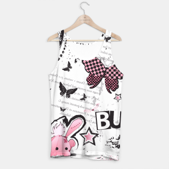 Thumbnail image of Punk Bunny - cute and grunge  Tank Top II, Live Heroes