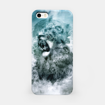 Thumbnail image of Lion Blue iPhone Case, Live Heroes