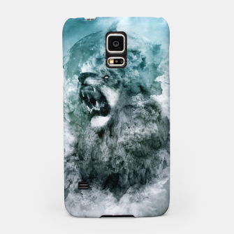 Thumbnail image of Lion Blue Samsung Case, Live Heroes