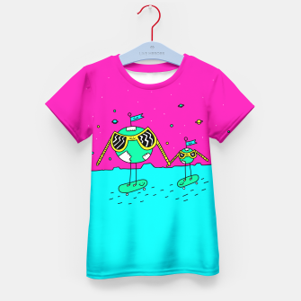 Thumbnail image of BFF Kid's T-shirt, Live Heroes