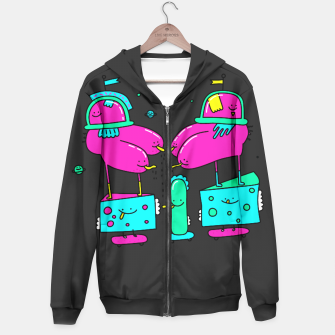 Thumbnail image of Boxing Butts Hoodie, Live Heroes