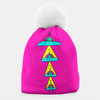 Thumbnail image of Happy Space Friends Beanie, Live Heroes
