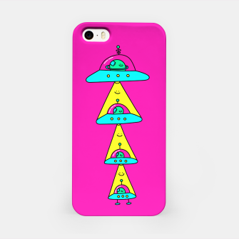 Thumbnail image of Happy Space Friends iPhone Case, Live Heroes