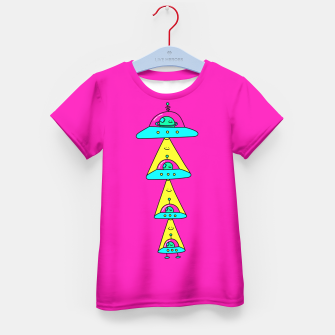 Thumbnail image of Happy Space Friends Kid's T-shirt, Live Heroes
