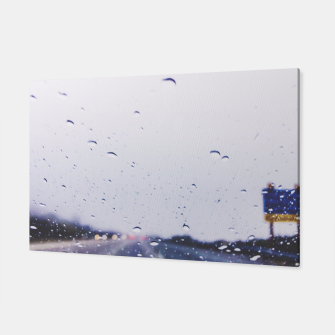 Thumbnail image of on the road with the rain storm Canvas, Live Heroes
